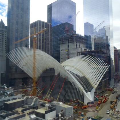 World Trade Center Transportation Hub from 7WTC