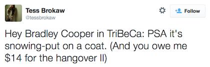 tweet Bradley Cooper2