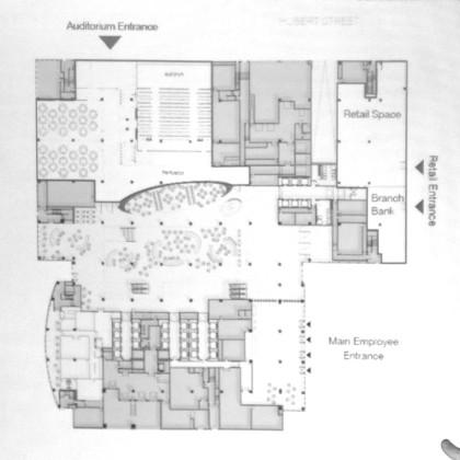 Citi HQ layout