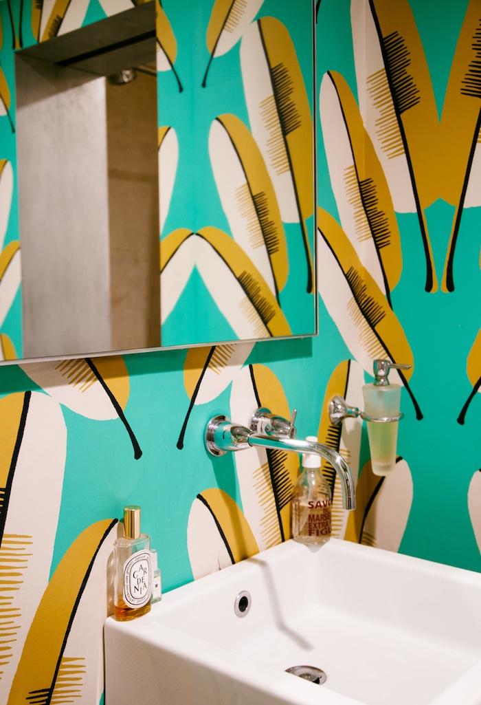 Marika Wagle bathroom from New Bohemians by Justina Blakeney