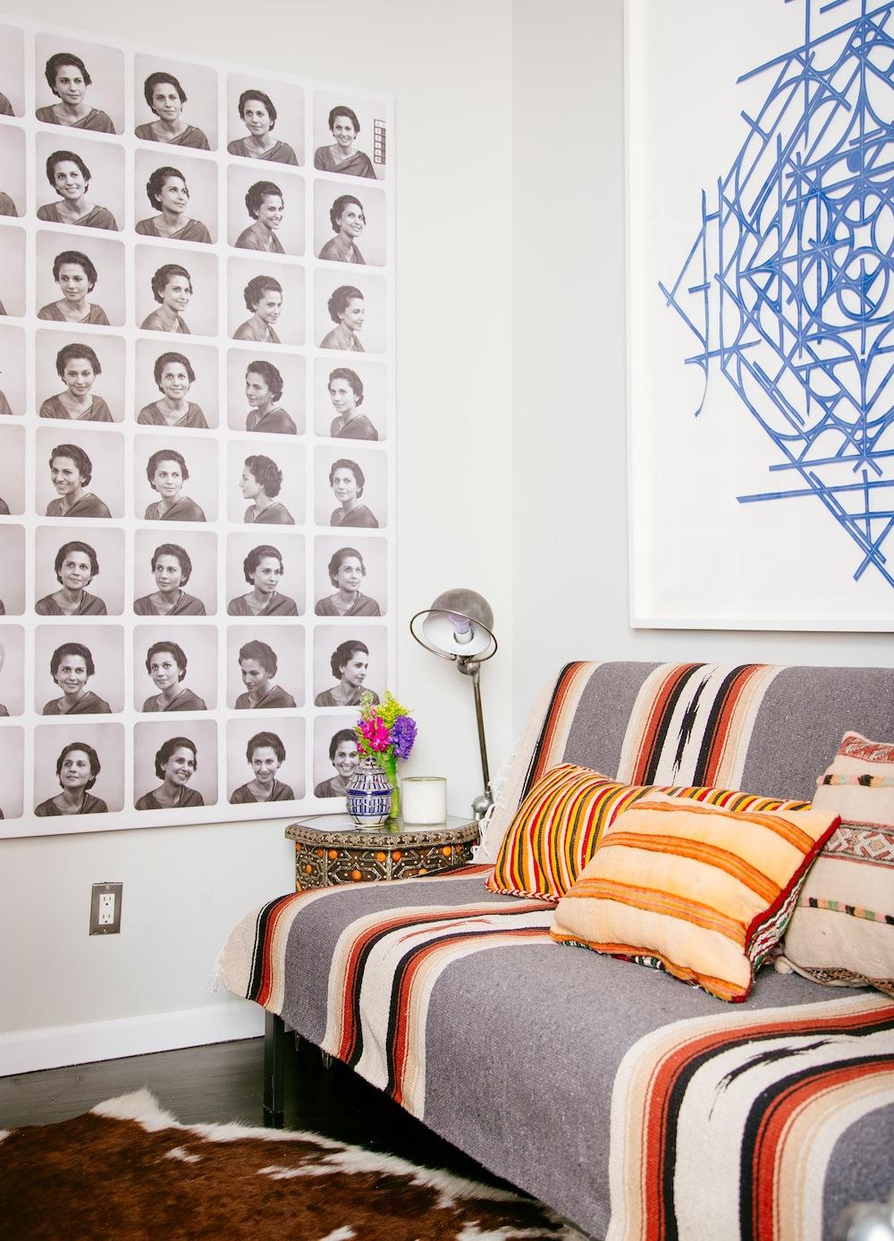 Marika Wagle office from New Bohemians by Justina Blakeney