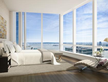 111 Murray apartment rendering