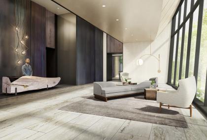 111 Murray lobby rendering