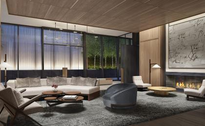 111 Murray lounge rendering