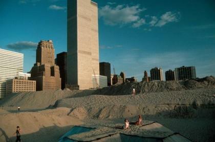 Dunes Battery Park City 1970s via NYPD1Pct