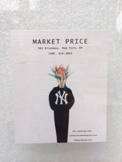 Market Price pop-up 365 Broadway