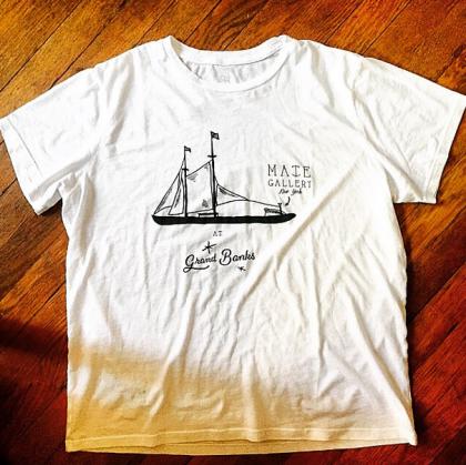 Mate Gallery Grand Banks t-shirt