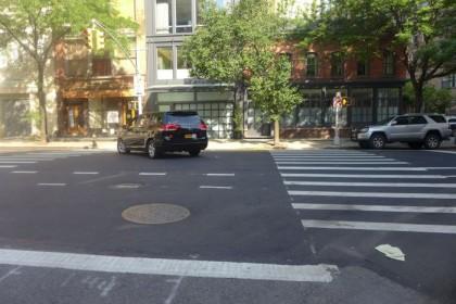 White Street illegal turn1