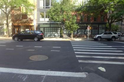 White Street illegal turn2