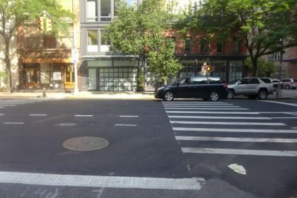 White Street illegal turn3