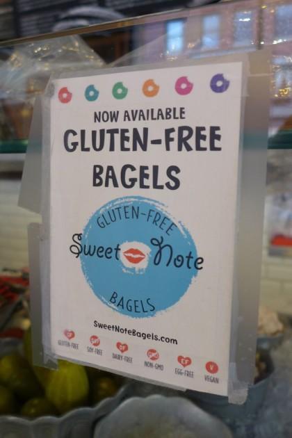 Benvenuto gluten-free bagels