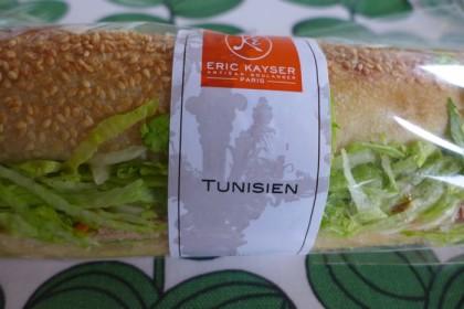 Maison Kayser Tribeca Tunisien sandwich