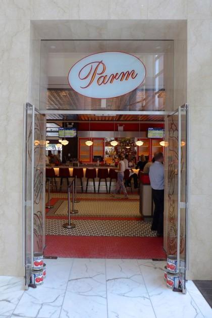 Parm Brookfield Place door