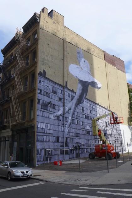 100 Franklin mural by JR 8515