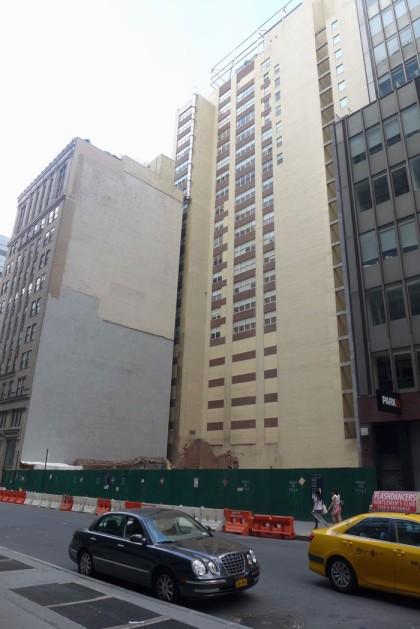 43-51 Park Place demolition