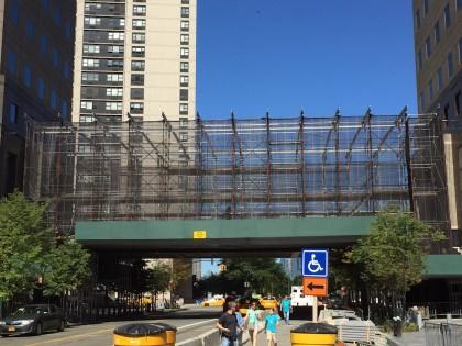 Brookfield Place Liberty Street bridge