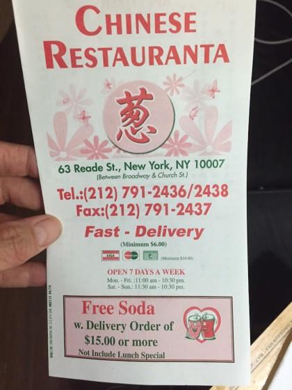 Chinese Restauranta