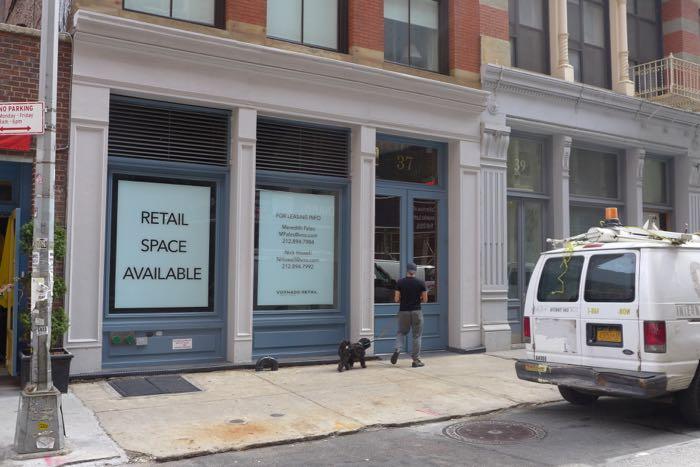 Lispenard vacant storefront2