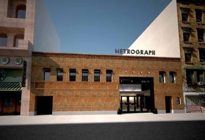 Metrograph arthouse cinema rendering courtesy Metrograph