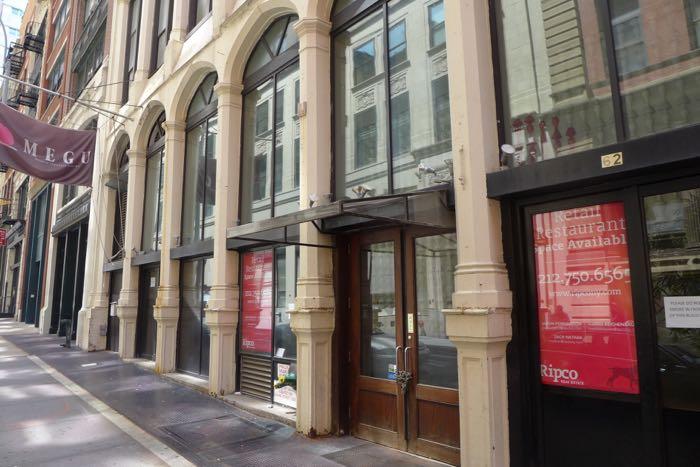 Thomas vacant storefront