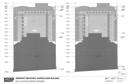 49-51 Chambers Emigrant Industrial Savings Bank windows