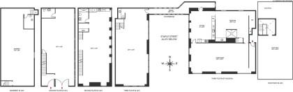 9 Jay and 67 Hudson Staple Street bridge floor plan