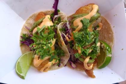 El Luchador fish tacos