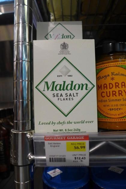 Gourmet Garage Tribeca Maldon salt