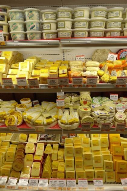 Gourmet Garage Tribeca cheese