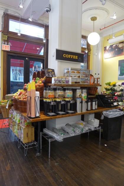 Gourmet Garage Tribeca coffee