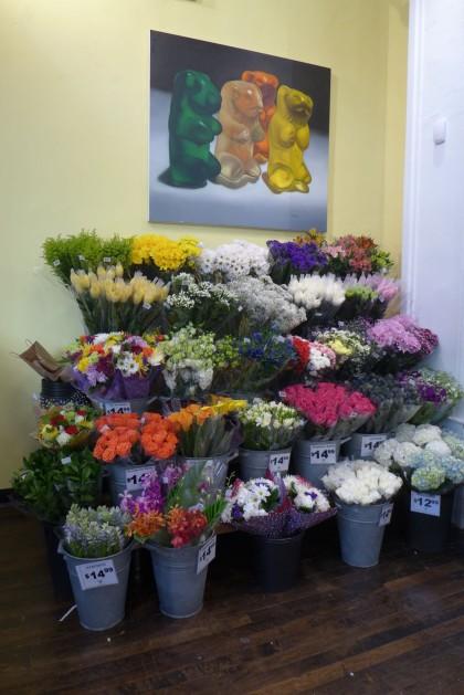 Gourmet Garage Tribeca flowers
