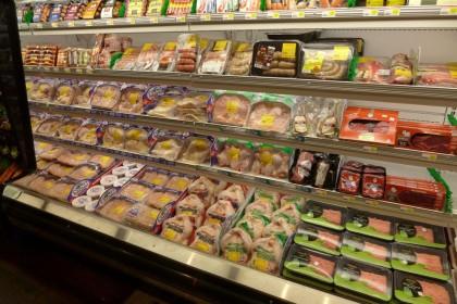 Gourmet Garage Tribeca meat