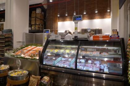 Gourmet Garage Tribeca meat counter