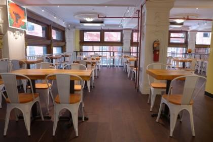 Gourmet Garage Tribeca mezzanine