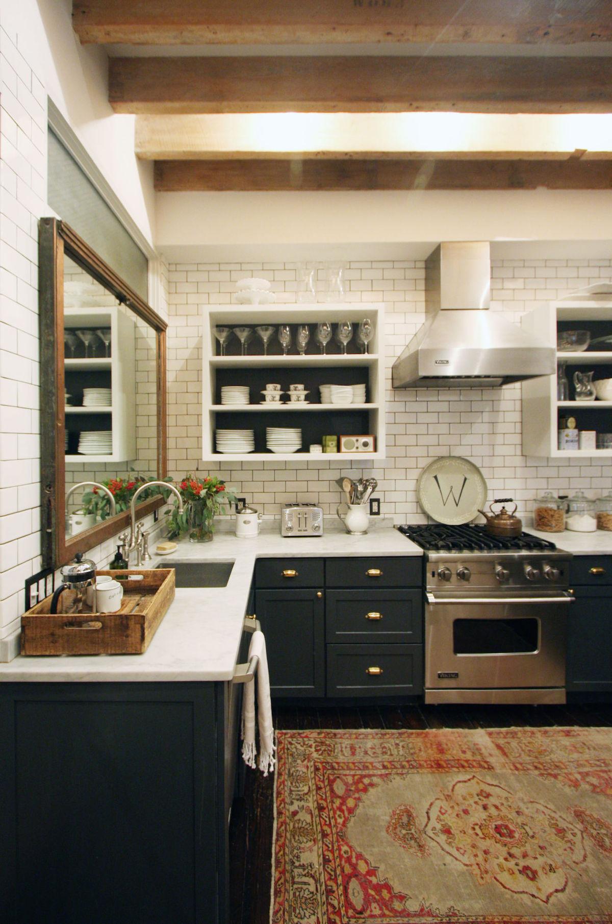 Tribeca Citizen Jenny Wolf Loft Kitchen By Patrick Cline