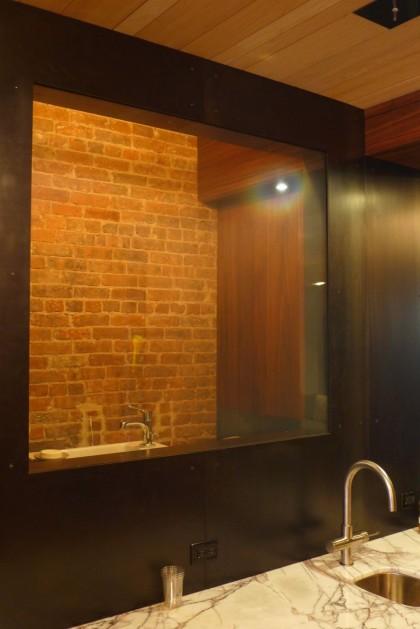 Loft Tour Laight penthouse downstairs bathroom