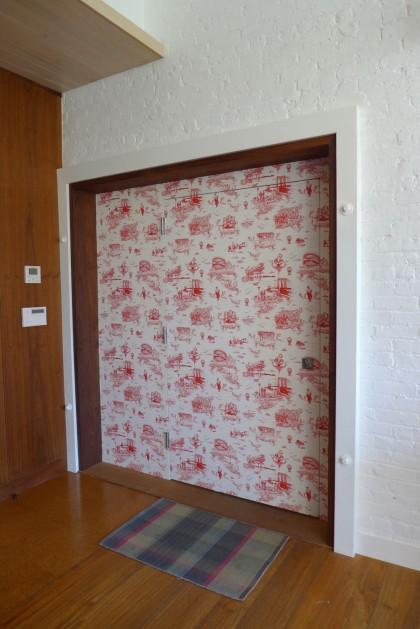 Loft Tour Laight penthouse elevator door