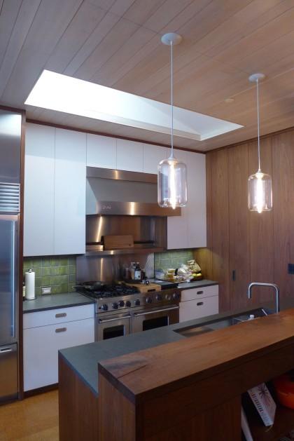 Loft Tour Laight penthouse kitchen