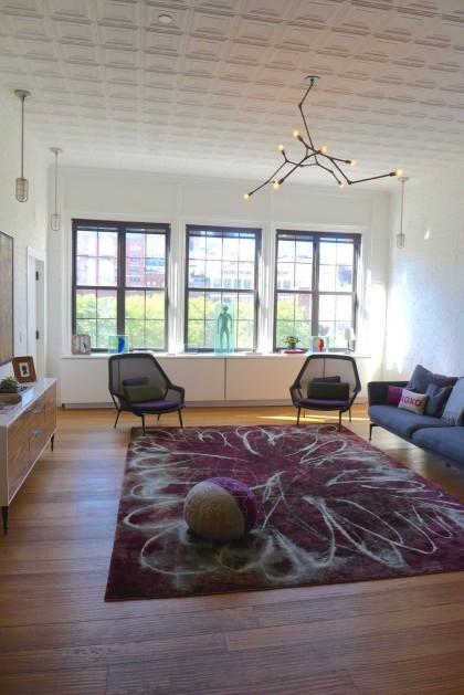 Loft Tour Laight penthouse living room