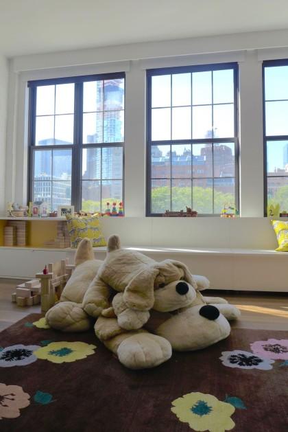 Loft Tour Laight penthouse playroom