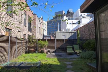 Loft Tour Laight penthouse roof deck facing north