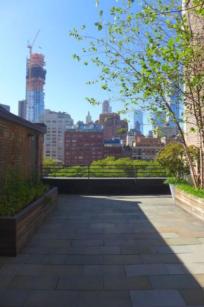 Loft Tour Laight penthouse roof deck facing south