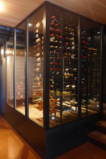 Loft Tour Laight penthouse wine cave