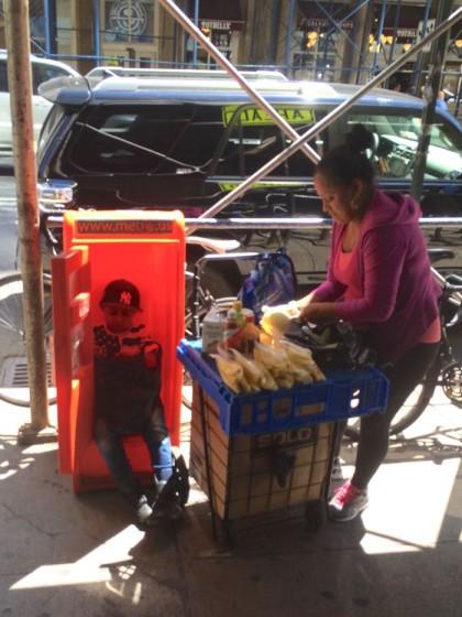 mango vendor and son