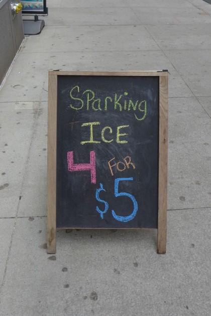 sparking ice at Prime Essentials