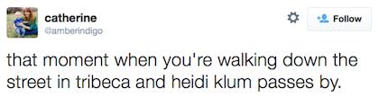 tweet Heidi Klum
