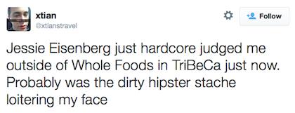 tweet Jesse Eisenberg