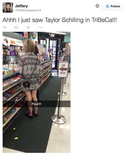 tweet Taylor Schilling