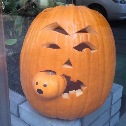 24-26 Warren Street pumpkin