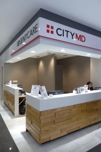CityMD Tribeca front desk